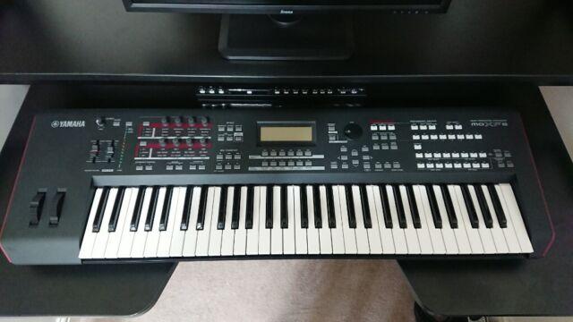 Yamaha MOXF6 workstation synthesizer keyboard sale or swap   in Matlock,  Derbyshire   Gumtree