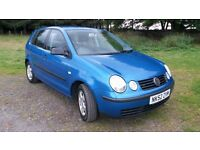 VW POLO 1.4 S 5dr 2002 EXCEPTIONAL ! VERY LOW MILES. FULL SERVICE HISTORY. 12 MTHS MOT.