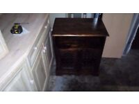 INDIAN SOLID WOOD CORNER UNIT AND TV UNIT MATCHING IN VERY GOOD USED CONDITION FREE DELIVERY