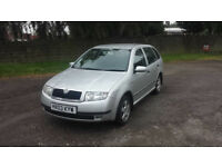 Skoda Fabia 1.4 16v 74KW 22.000mil Cheap and tidy car