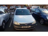 Vauxhall, CORSA, Hatchback, 2002, Manual, 1686 (cc), 3 doors