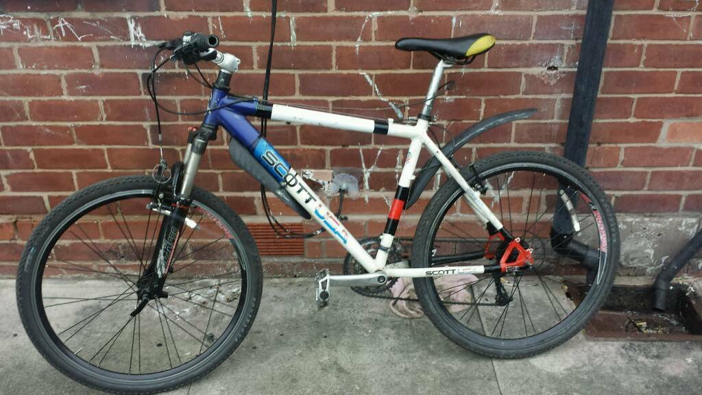 Scott usa flightlight mountain bike 100 pounds or anything decent for swaps