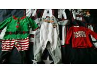 3 - 6 months babu clothes Christmas bundle
