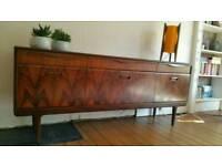 Vintage Mid Century Rosewood Sideboard