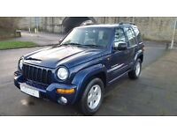 2003 JEEP CHEROKEE 4X4 2.8 CRD LTD AUTO PX WELCOME
