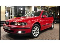 2005 05 Seat Leon 1.9 Tdi Diesel 2 Owners From Excellent Condition Full Service History Drives Great