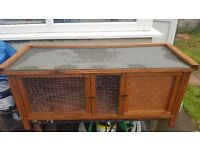 New guniea pig hutch never been used