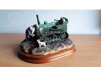 Border Fine Arts field marshall tractor with catterpillars - rare