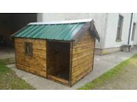 top quality custom built dog kennel's, goat house's, pet enclosure's