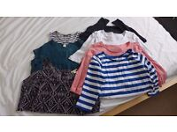 Summer Maternity Tops and Dress Size 8 Bundle