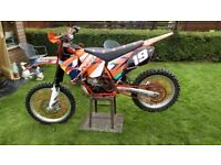 Ktm 250 sx 03 may swap