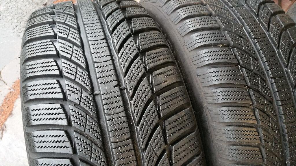 225 55 16 99H XL 2 x tyres Champiro Winter Pro GT Radial M+S