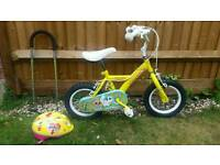 Girls sugar and spice bike 12 inch from Halfords