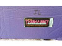 Two full length lightweight Thermarest sleep mats