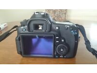 Canon EOS D60 body and various lenses. All in excellent condition. Large lens only used 2 - 3 times
