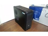 i7 GAMING PC WITH LIQUID COOLING AND 12GB RAM / COOLER MASTER 850W