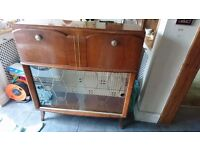 1950s COCKTAIL CABINET/WRITING DESK