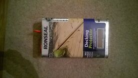Ronseal Decking Protector 5L Natural Oak