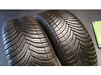 205 55 16 94V XL 2 x tyres Michelin CrossClimate