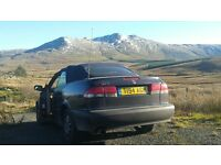 saab 93 eco turbo convertible spares or repair