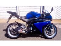 YAMAHA R125 2009 Blue&Black with lots of Extras