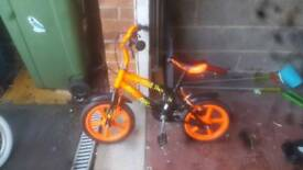 Small boys bike good condition