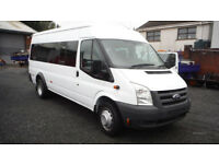 17 SEATER MINIBUS FOR SELF DRIVE HIRE OR WITH DRIVER - CHEAPEST IN UK!!!