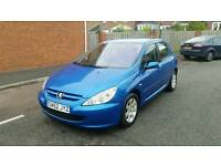 2002 peugeot 307 hdi excellent inside and out, service history