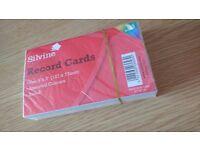 BRAND NEW Silvine coloured cards