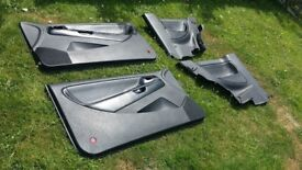 Mk3 Seat Ibiza Cupra Half Leather Doorcards
