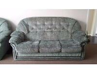 3 piece sofa suite- excellent condition