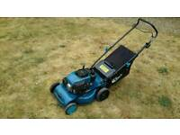 "Einhell 18"" cut push mower lawn mower easy start lawnmower"