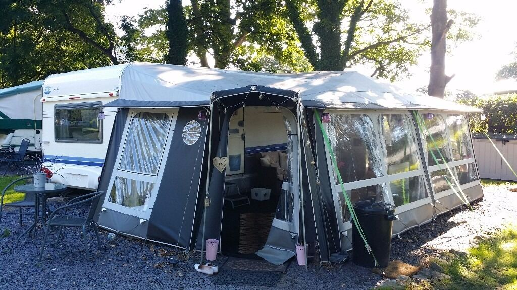2015 Isabella Penta Concept Caravan Awning With Zinox Mega