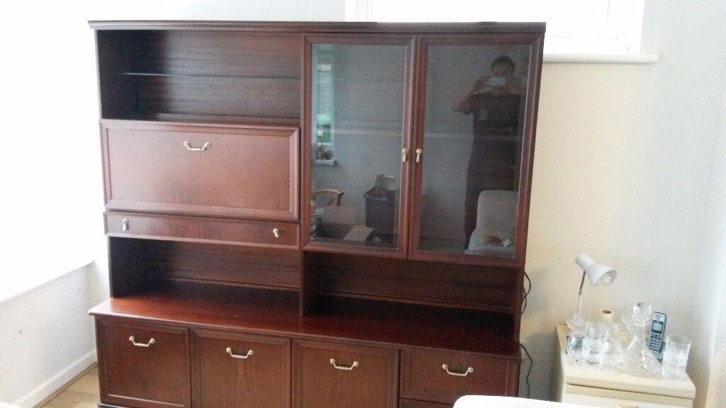 Solid Mahogany Sideboard / Dresser
