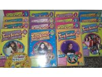 16 Tracy Beaker dvd and book