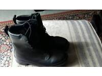 Gore text army boots