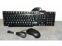 Dell keyboard and mouse with USB connection