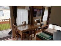 2012 3 bedroom Abi St David Caravan holiday home sited at Thurston Mannor near Dunbar