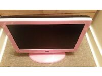 """Pink 22"""" LCD Pink TV"""