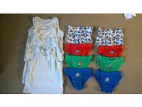2-3 years boys clothes vests and pants bundle