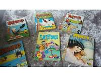 Assortment of annuals - Beano, Topper and Misty