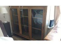 Ercol Arbor glass unit. Rare