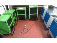 INDUSTRIAL/COMERCIAL DEHUMIDIFIERS PUMP-OUT/GRAVITY DRAIN DEHUMIDIFIERS ALL GOOD TO WORK SEE PHOTOS