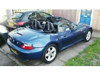 2002 bmw z3 convertible stunning car long mot