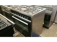 90cm CDA range cooker dual fuel