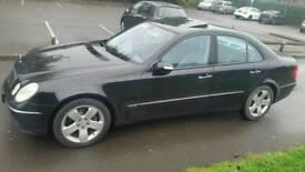 Mercedes E320 cdi Avantgarde, Auto Tiptronic, Black, One owner