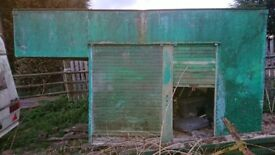 Lorry back / Storage container