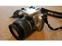 Canon DSLR Camera + Lens + Memory Card