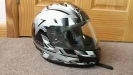 HJC Motorbike helmet. Small.