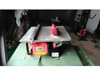 240volt tile cutter 460 watt motor with diamond blade price reduced